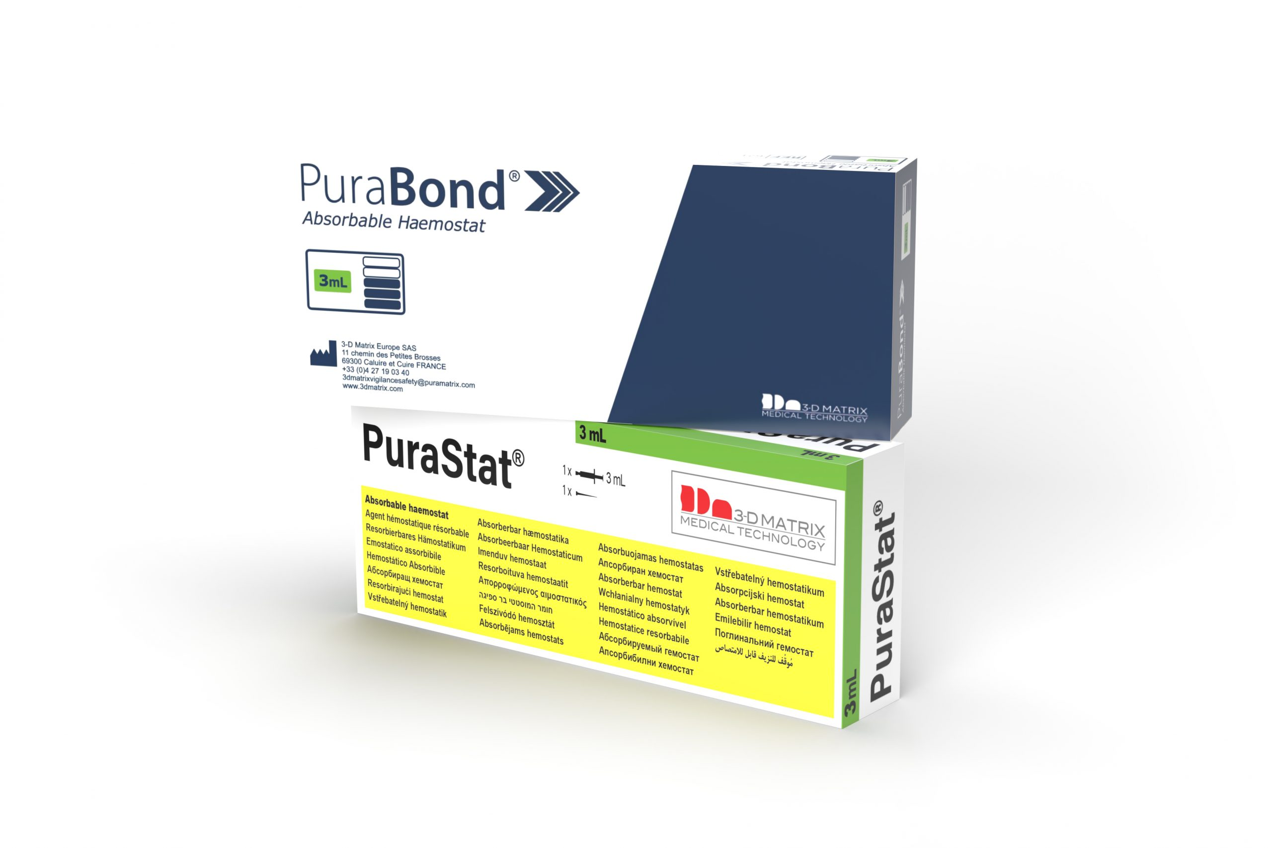 three purastat boxes